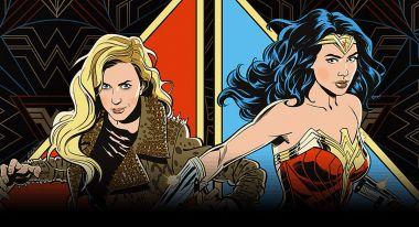 Wonder Woman 1984 - kolejne grafiki promujące film w stylistyce lat 80.