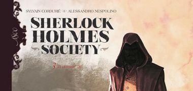 Sherlock Holmes Society #03: In nomine Dei - recenzja komiksu