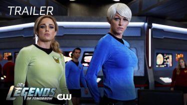 Legends of Tomorrow - zwiastun nowych odcinków. Parodia Star Treka i Przyjaciół