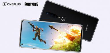OnePlus 8 pozwoli zagrać w Fortnite'a w 90 FPS-ach