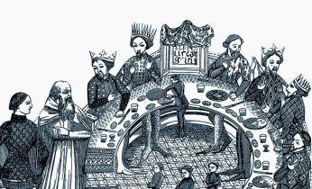Przy stole z królem. Jak ucztowano na królewskim dworze - recenzja książki