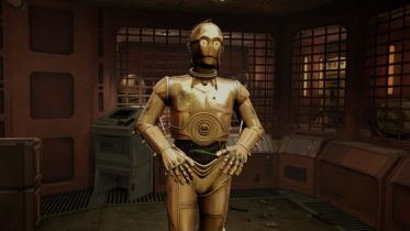 Star Wars: Tales from the Galaxy's Edge - zobacz nowy teaser z udziałem R2D2 i C-3PO