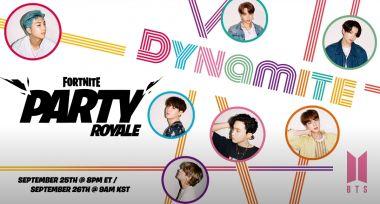 Fortnite - k-popowy zespół BTS zaprezentuje swój nowy teledysk w grze Epic Games