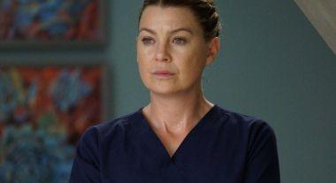 Chirurdzy - zdjęcie Ellen Pompeo z planu. Dedykacja dla pracowników służby zdrowia