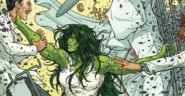 She-Hulk - zmiana genezy postaci. Najpotężniejszy bóg uniwersum i konwencja horroru
