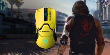 Razer zaprezentował myszkę Viper Ultimate Cyberpunk 2077 Edition