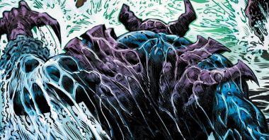 Połącz olbrzymiego Mrocznego Rycerza, potwora Frankensteina i kaiju - powstanie on, Omega Knight