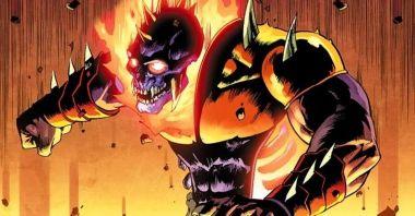 Najmroczniejszy Ghost Rider wraca! Zobaczcie, jak ucieka się z samego Piekła