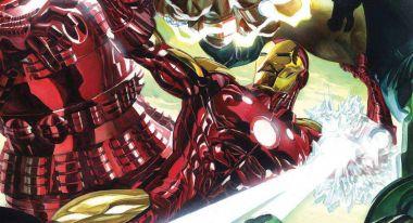 Iron Man dzięki nowej zbroi może przebić się przez vibranium i adamantium jednocześnie