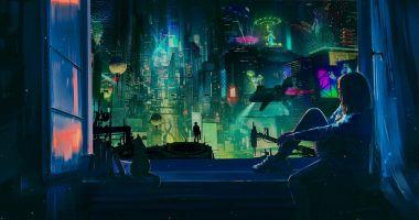 Koronawirusowy 2020 rok przybliżył nas do cyberpunkowego świata