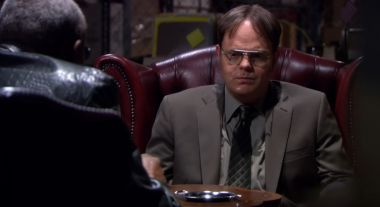 Biuro - Dwight w Matrixie. Obejrzyjcie epicki żart na niepublikowanym wcześniej fragmencie serialu