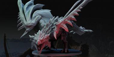 Monster Hunter World jako gra planszowa. Projekt wkrótce trafi na Kickstartera