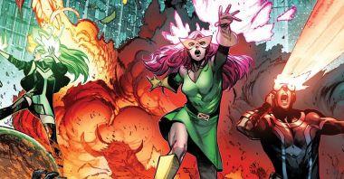 X-Men - oto nowy, pełny skład grupy. Jest Wolverine, choć nie ten, którego znamy