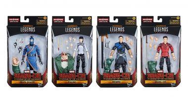 Shang-Chi i legenda dziesięciu pierścieni - tak wyglądają figurki z filmu. Jest też zestaw LEGO