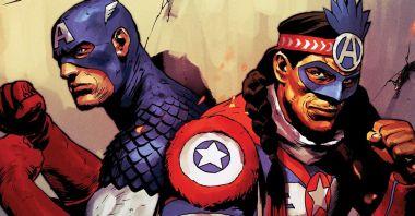 Marvel - oto nowy Kapitan Ameryka z plemienia Kikapów. Indianin podniesie tarczę