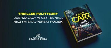 Konkurs: Wygraj powieść Jacka Carra pt. LISTA ŚMIERCI