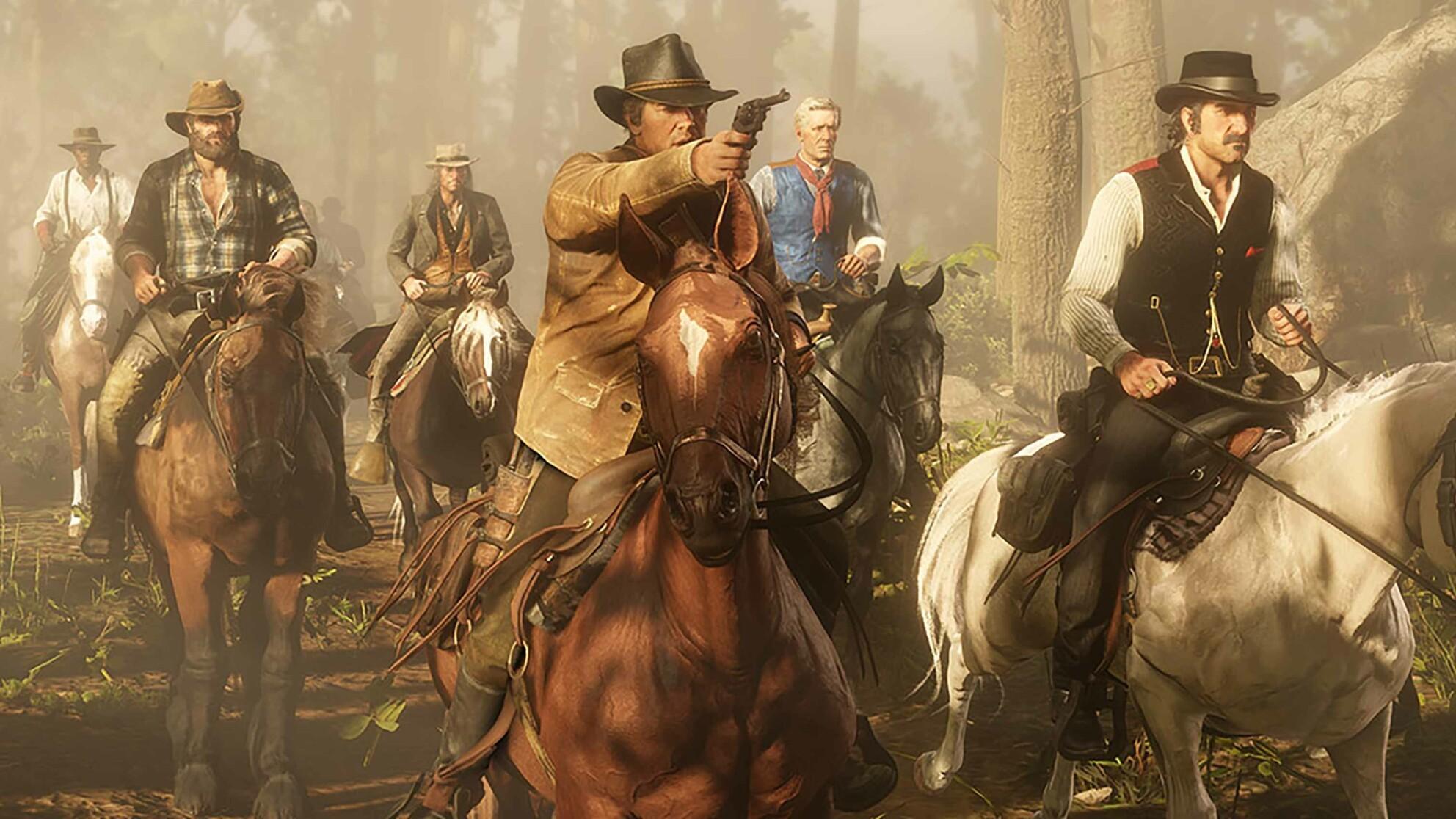 Red Dead Redemption 2  - opowieść, która stała się grą