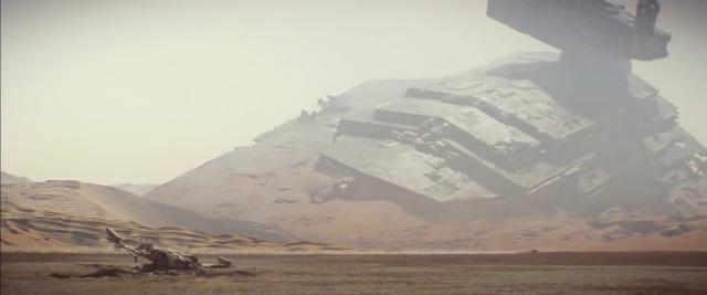 Gwiezdne Wojny: Przebudzenie Mocy - niszczyciel