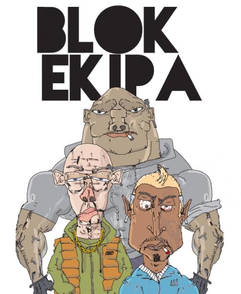 Blok Ekipa - plakat