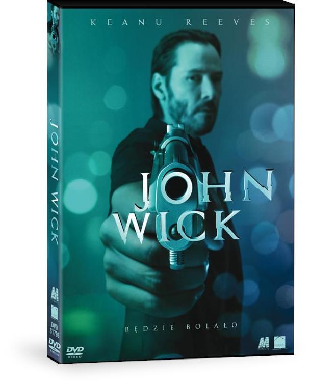 John Wick - pudełko DVD
