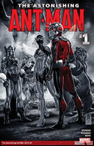 The Astonishing Ant-Man - okładka komiksu