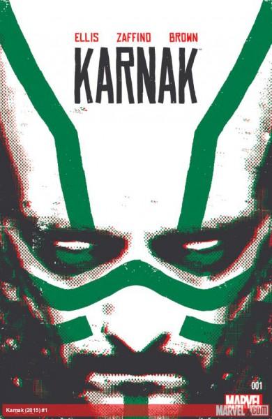 """""""Karnak"""" - okładka komiksu"""