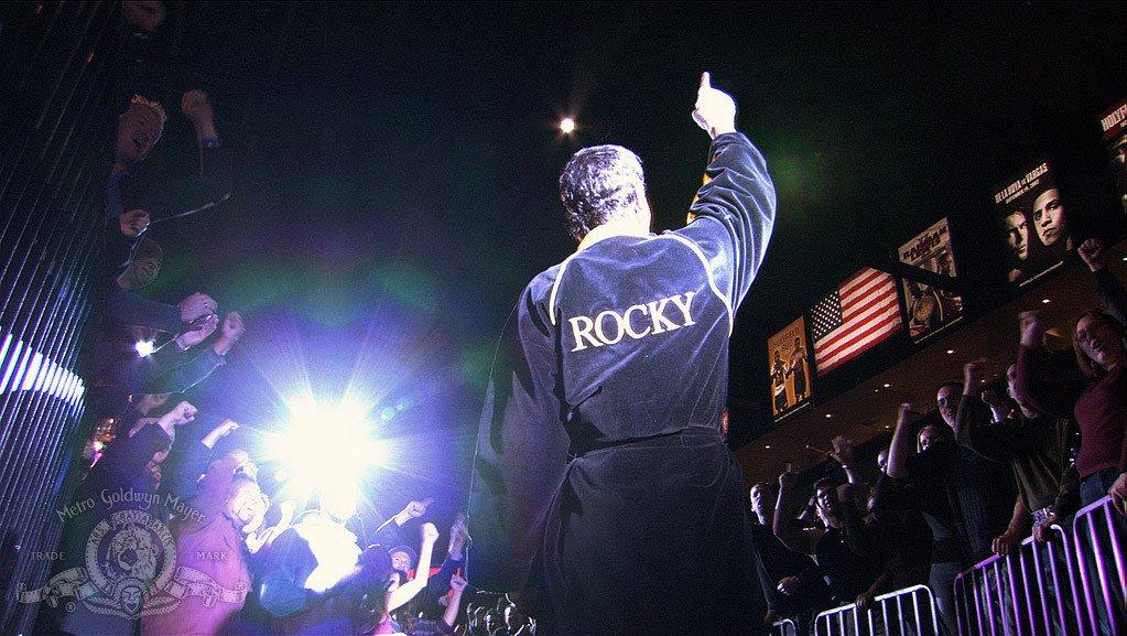 Inspiracją dla stworzenia postaci głównego bohatera był legendarny bokser, Rocky...