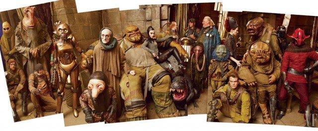 Warwick Davis i stwory