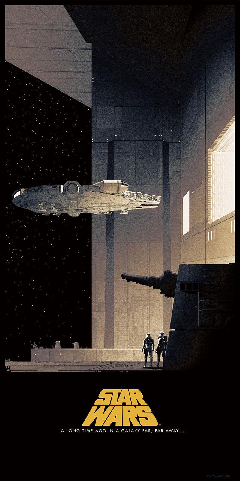 Plakaty do Oryginalnej Trylogii Gwiezdnych Wojen