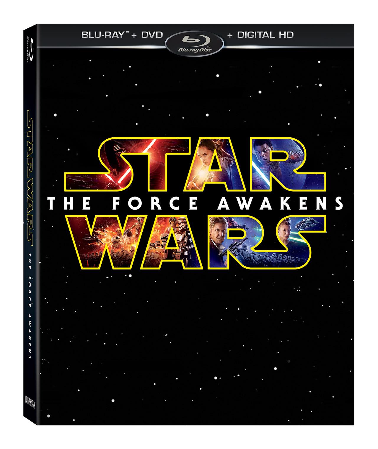 Gwiezdne Wojny: Przebudzenie Mocy - Blu-ray - okładka Blu-ray
