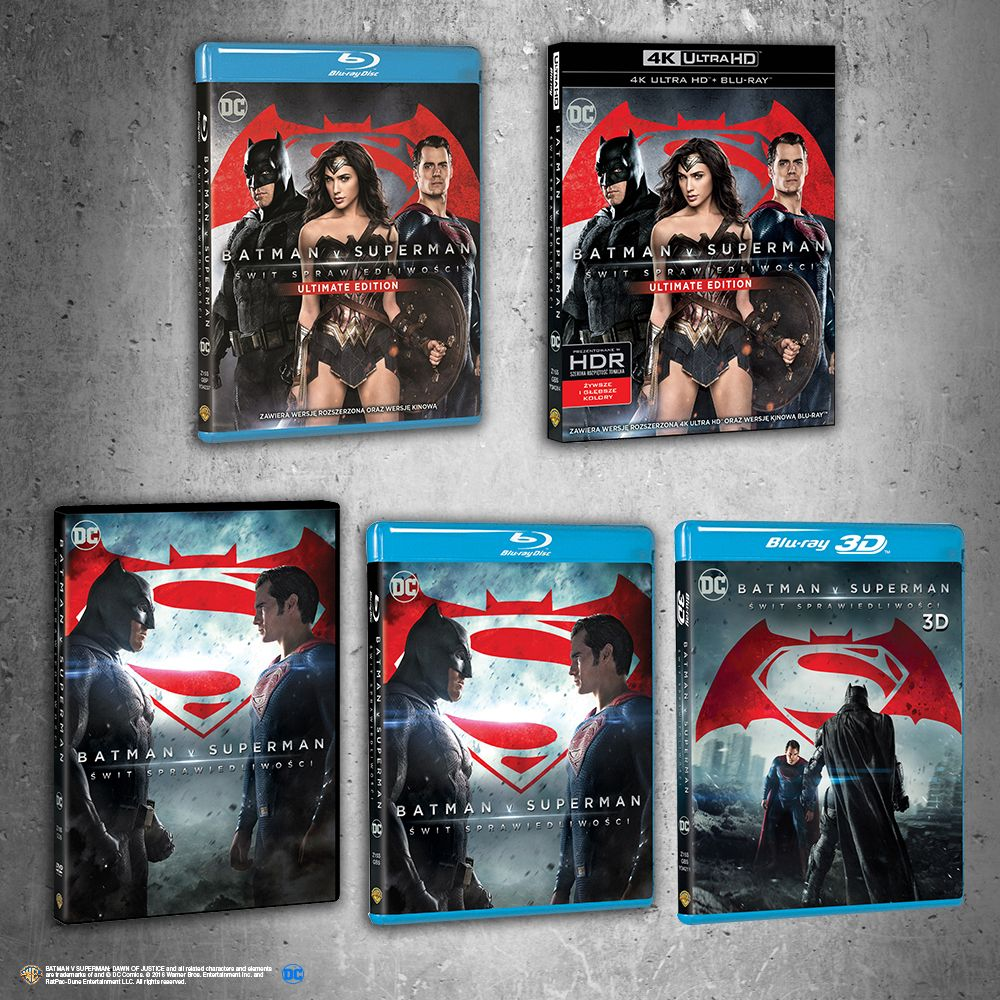 Warner Bros. - filmy w jakości 4K