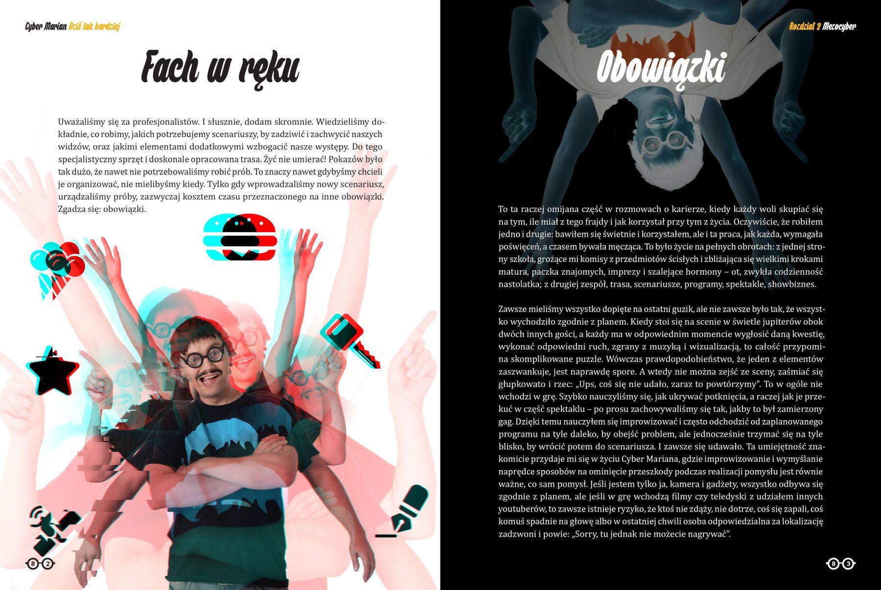 Cyber Marian, Dziś tak bardziej - strony 82-83