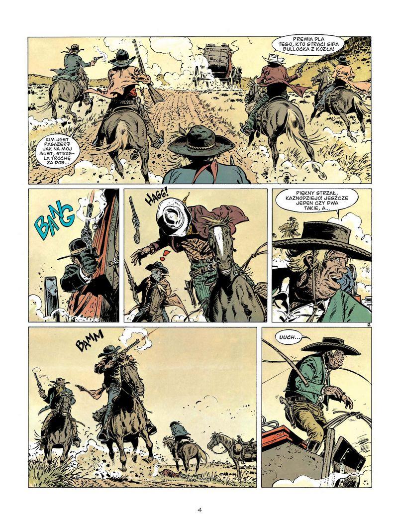 Comanche #03: Wilki w Wyoming - plansza