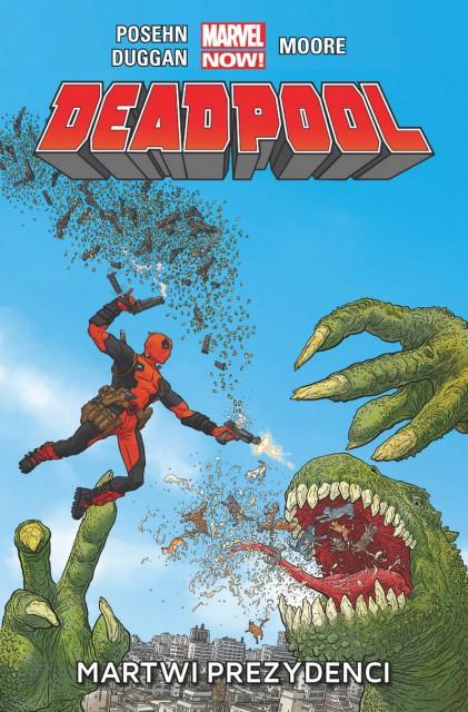 Deadpool. Martwi prezydenci #1 - okładka
