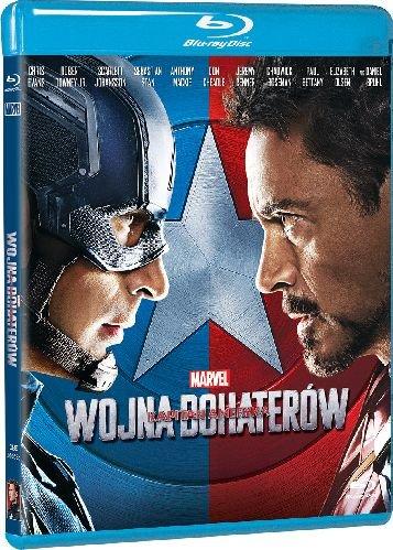 Kapitan Ameryka: Wojna bohaterów - okładka blu-ray
