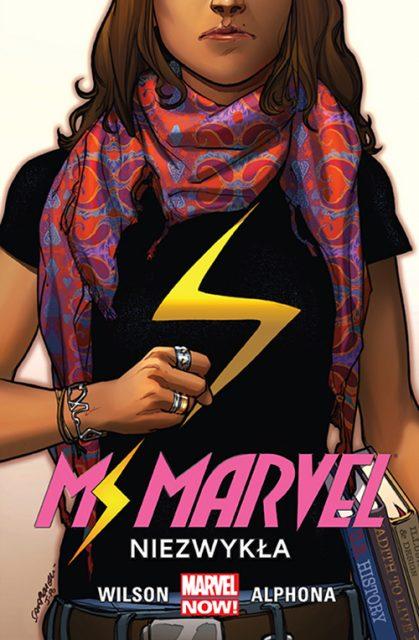 Ms. Marvel: Niezwykła - okładka