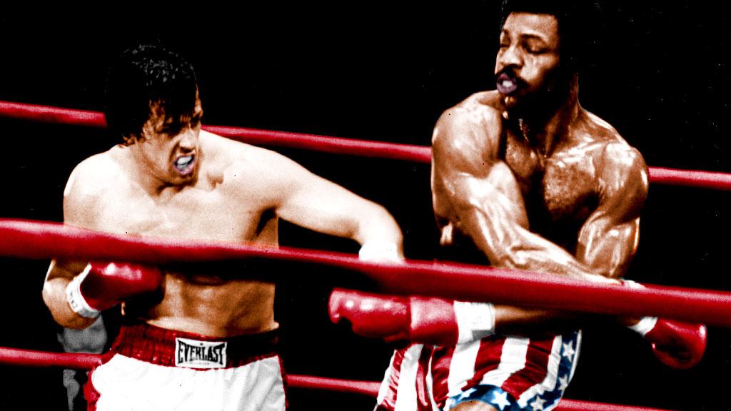 W pierwszym filmie Apollo wychodzi na ring przebrany za jednego z amerykańskich prezydentów - którego?