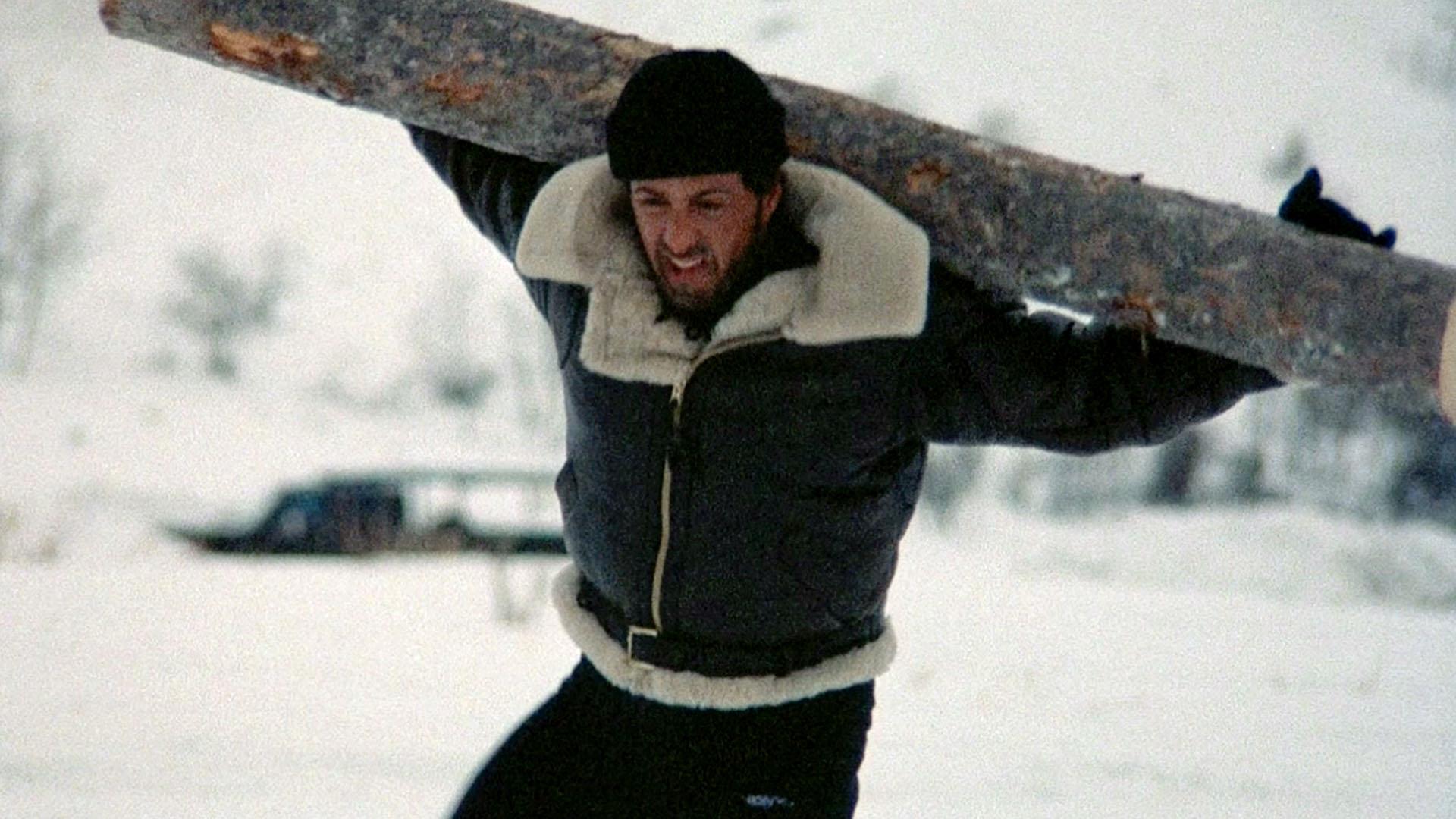 Gdzie Rocky przygotowuje się do walki z Ivanem Drago?
