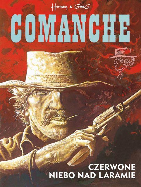 Comanche. Tom 4. Czerwone niebo nad Laramie - okładka