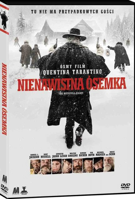 Nienawistna ósemka - okładka DVD