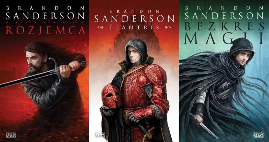 brandon sanderson - książki