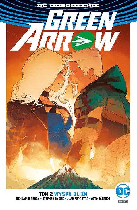 Green Arrow – Wyspa Blizn - okładka