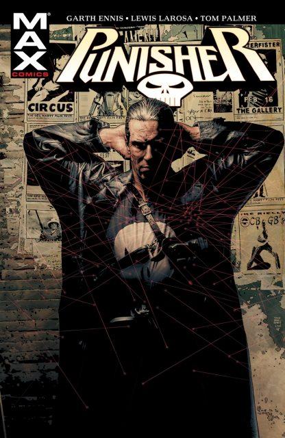 Punisher Max #01 - okładka