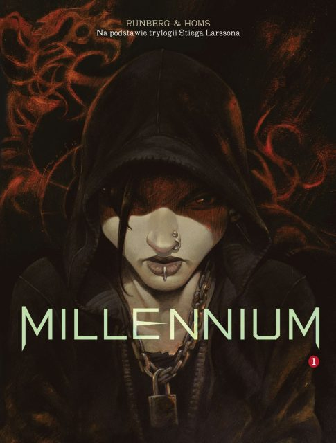 Millennium, tom 1 - okładka