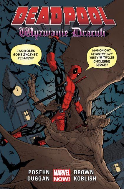 Deadpool #05: Wyzwanie Drakuli - okładka