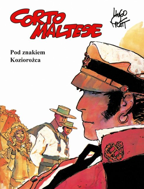 Corto Maltese. Pod znakiem Koziorożca - okładka