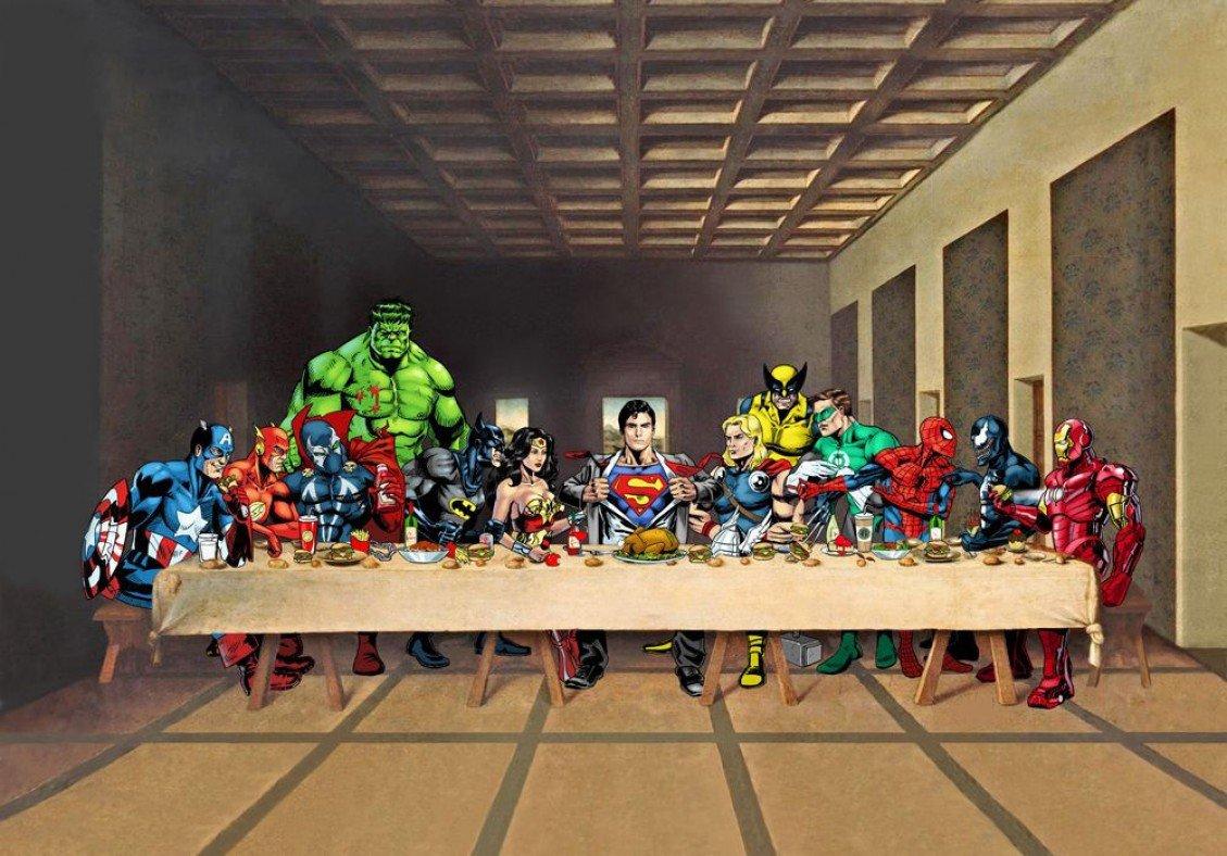 Ostatnia wieczerza - superbohaterowie