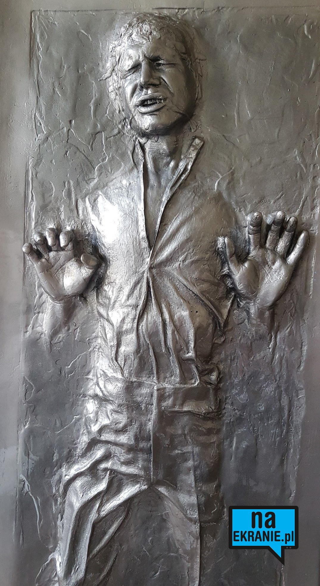 Han Solo Carbonite Michał Figurski