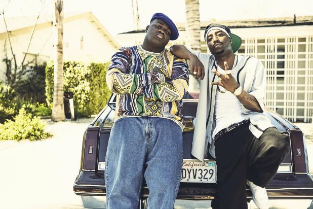 Tupac Shakur oraz Christopher Wallace aka The Notorious B.I.G