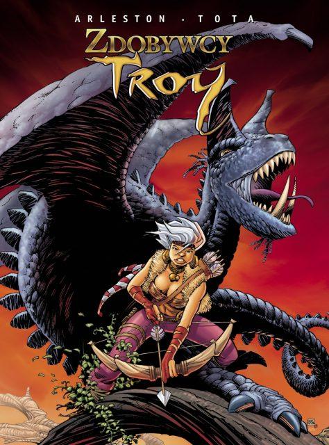 Zdobywcy Troy - okładka